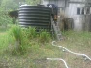 Rain Water Tank Cleaning
